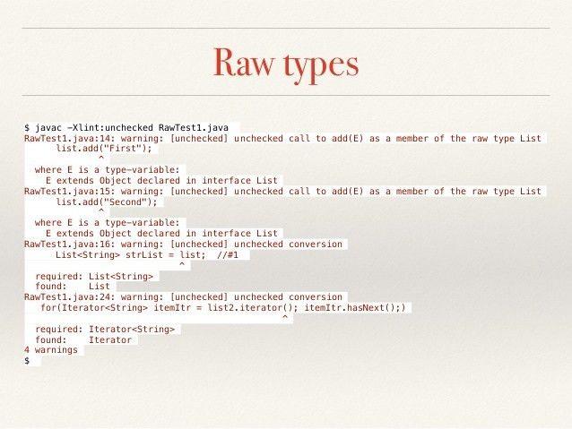 Java Generics - by Example