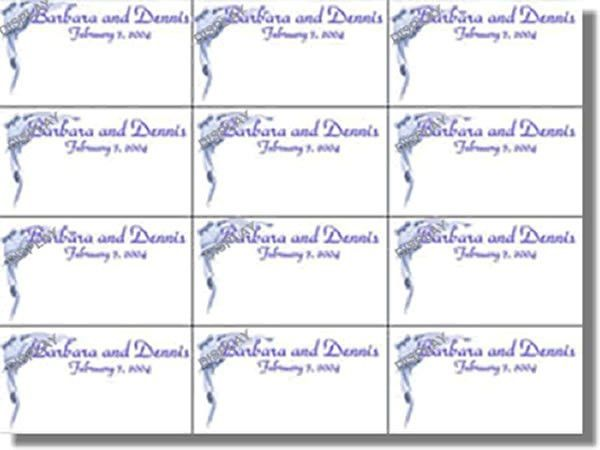 Guest Book and Place Card Templates