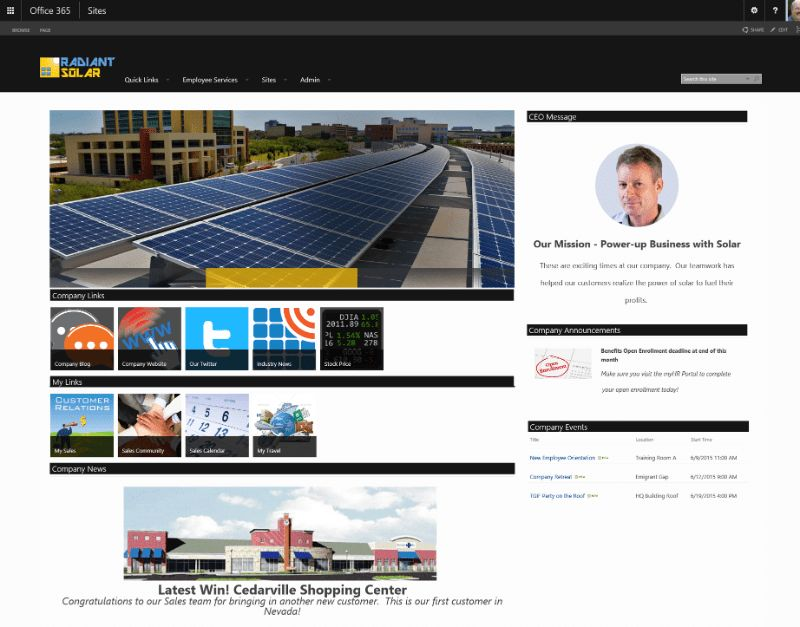 Intranet on Office 365 and SharePoint: Build, Buy or Both ...