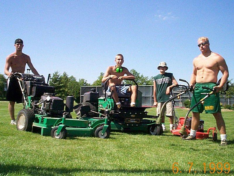 Nick's Lawn Care | NLiveris.com | Happy mowing crews | Pinterest ...