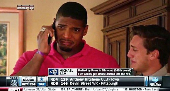 Michael Sam's Draft Moment | The New Yorker