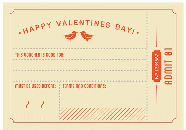 Free Valentines Day Coupon Book on We Heart It