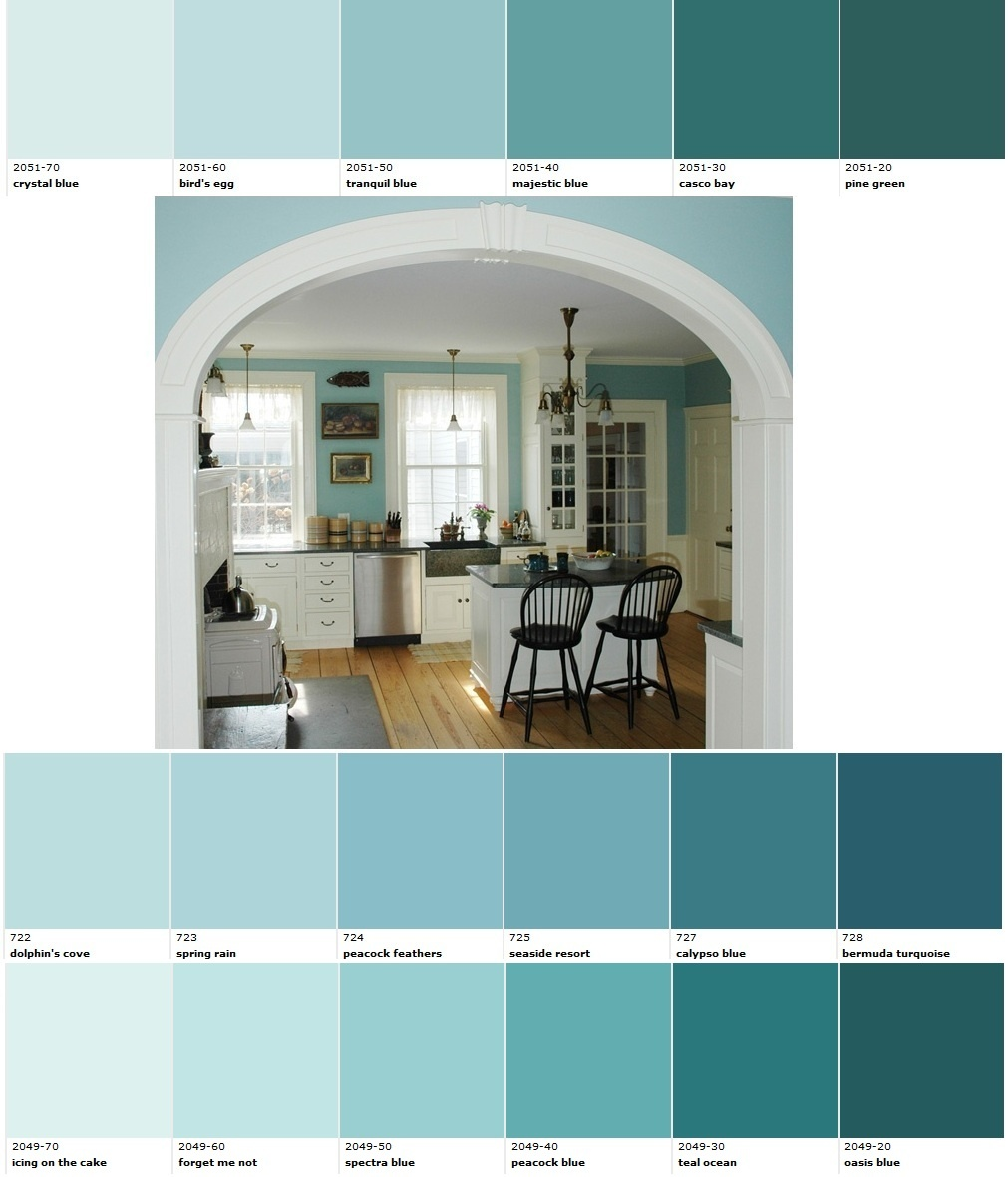 Aquamarine Paint Colors Via Bhg Com: 1000+ Images About Aqua & Turquoise On Pinterest