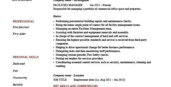 hospitality management resume sample ...