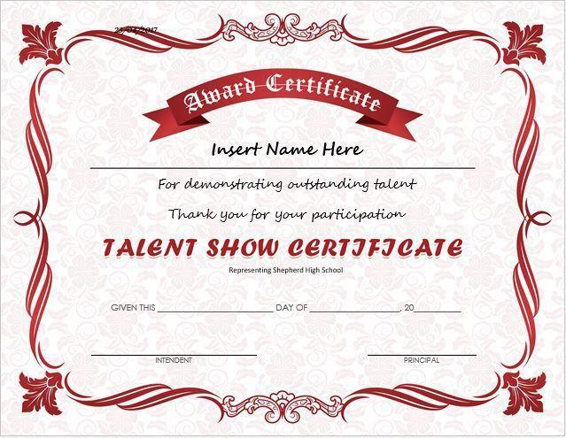 Best 20+ Award certificates ideas on Pinterest | Student awards ...