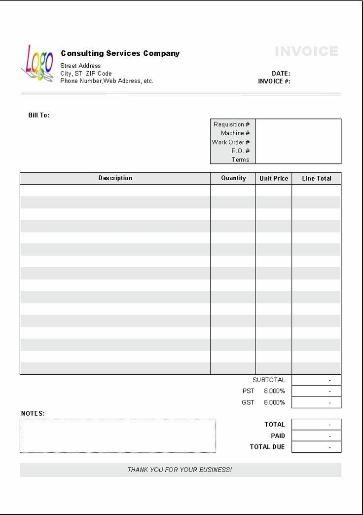 Best 20+ Invoice format ideas on Pinterest | Invoice template ...