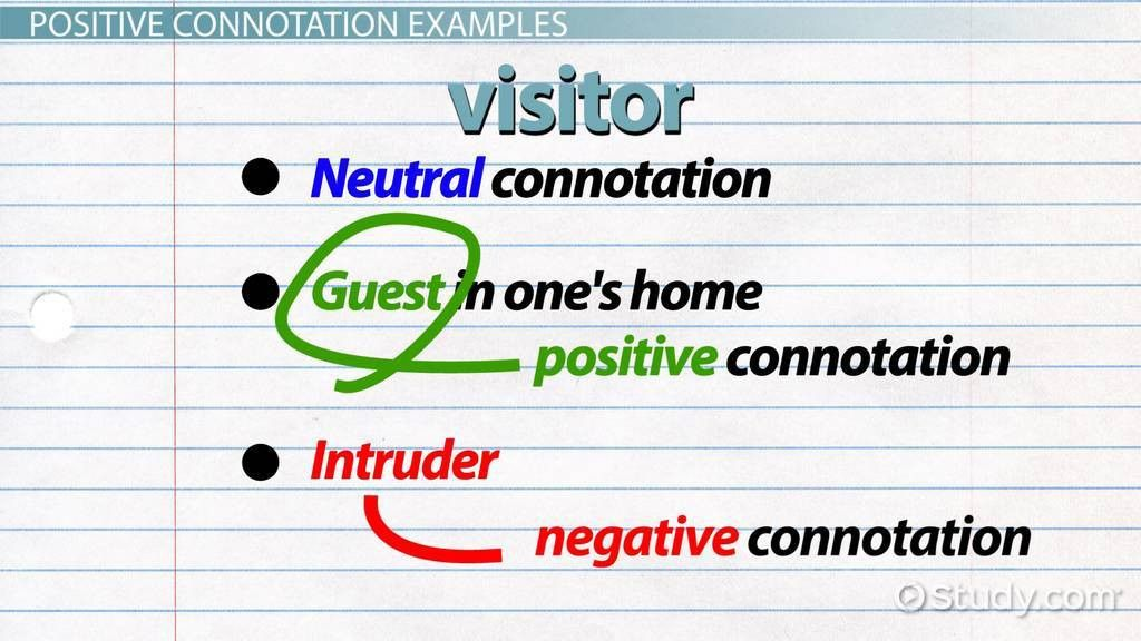 What Are Connotation and Denotation? - Definitions & Examples ...