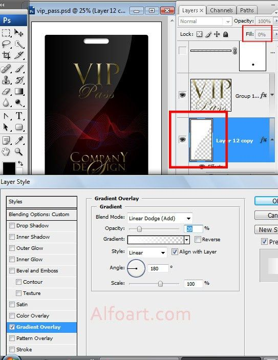 Tutorial on how to make Elegant and glossy black vip pass with ...
