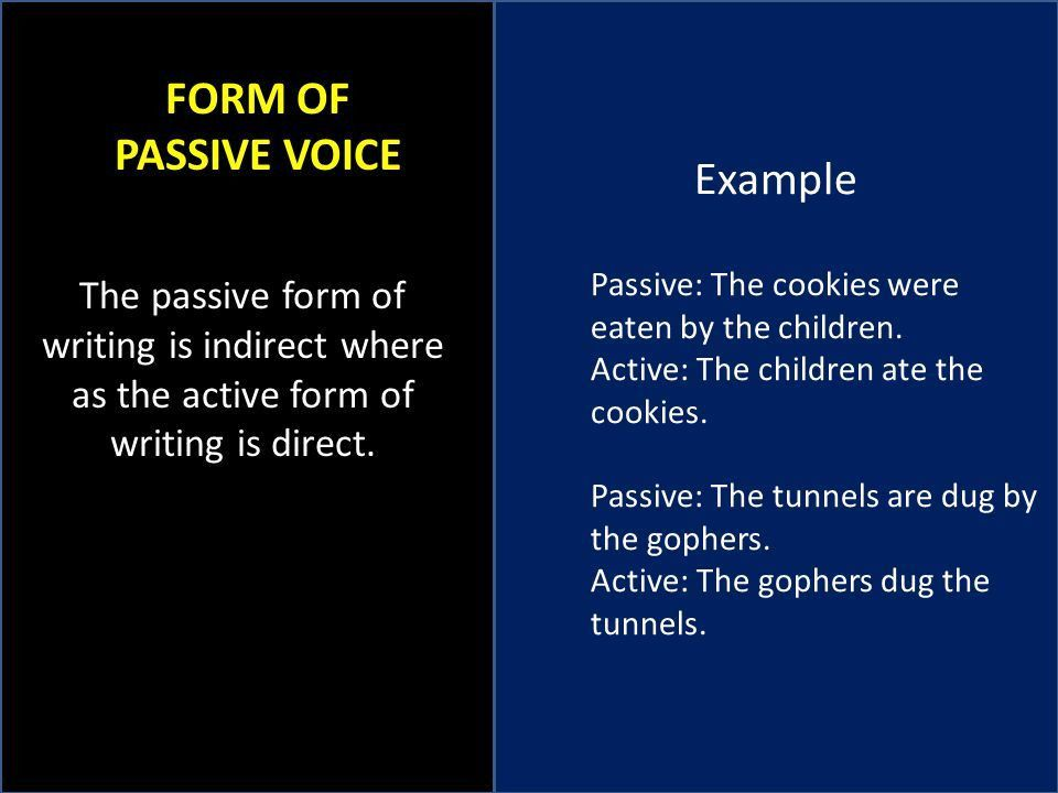 ACTIVE AND PASSIVE VOICE SUBJECT VERB AGREEMENT VAGUE PRONOUNS ...