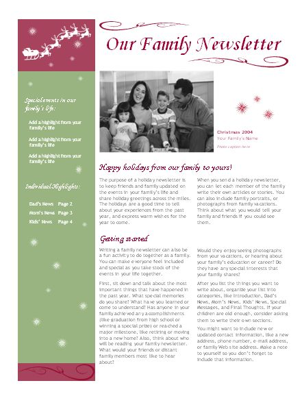 Elementary school newsletter - Office Templates