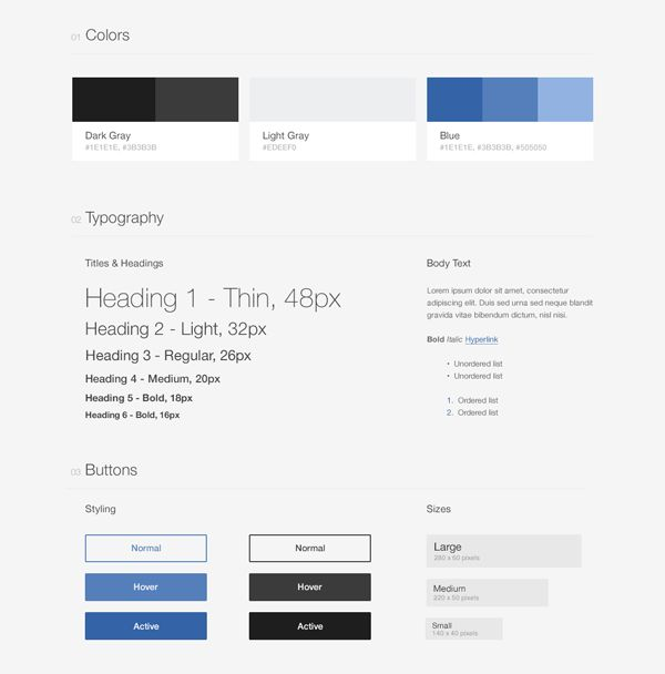 Style Guide Driven Development with Atomic Docs | CSS-Tricks
