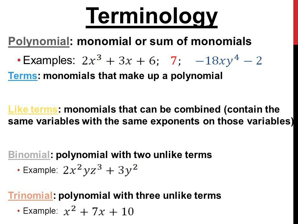 5-1 Monomials Objectives Multiply and divide monomials - ppt video ...