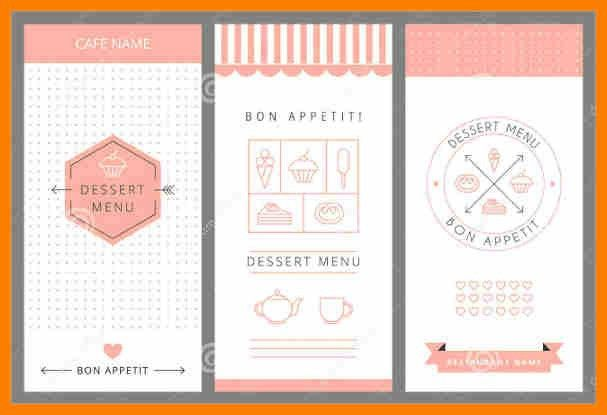 10+ free menu template for word | sephora resume