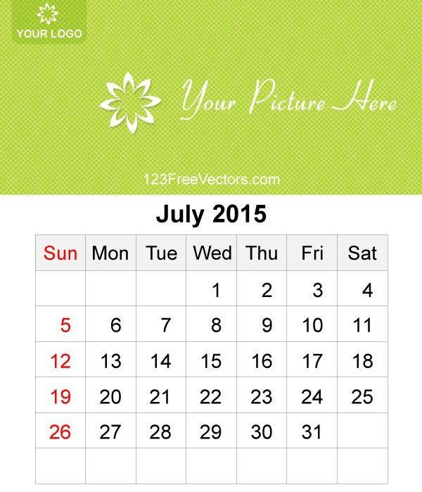 40+ Free, Premium Calendar Template & Designs 2015   Free ...