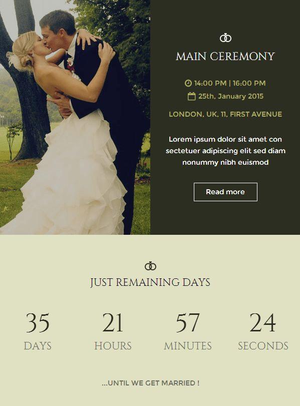 Wedding Invitation Email – gangcraft.net