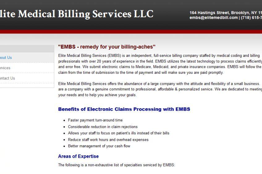 Elite Medical Billing Services - OfficeRecords.com