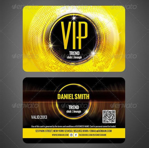 23+ VIP Card Templates - Free PSD, AI, EPS, Vector Format Download