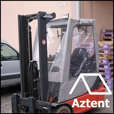 Waterproof Forklift Cover » Aztent