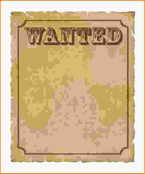 Wanted Poster Template Free.wanted Poster Template—–item 2 Vector ...