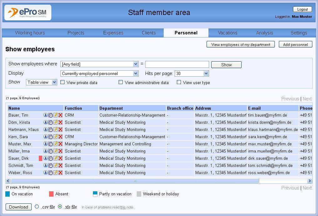 ERP software ePro-SM - EPRO-SM