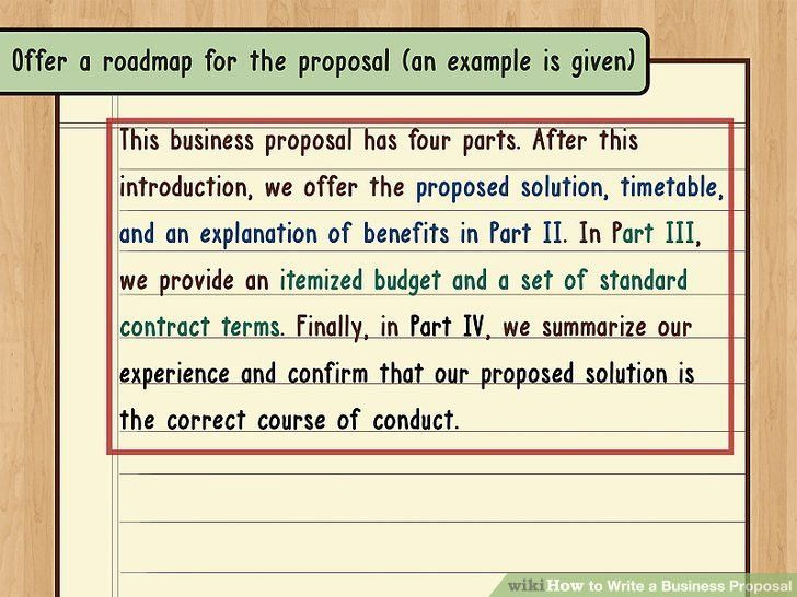 How to Write a Business Proposal (with Pictures) - wikiHow