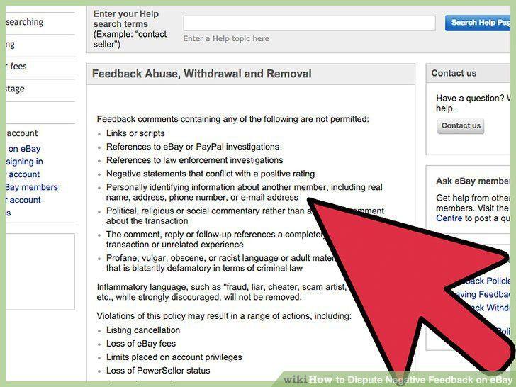 3 Ways to Dispute Negative Feedback on eBay - wikiHow