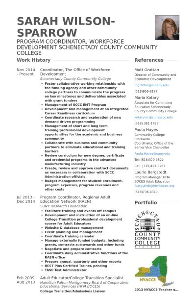 Coordinator Resume samples - VisualCV resume samples database