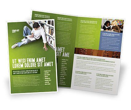 Self-education Brochure Template Design and Layout, Download Now ...