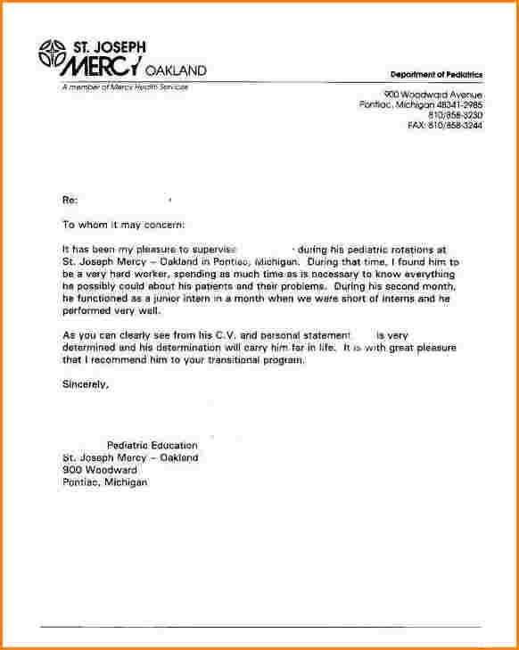 8+ sample recommendation letter | receipts template