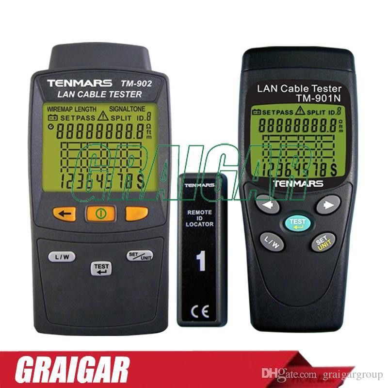 Tenmars TM-901N_TM-902 LAN LAN Cable Tester Handheld Low-Voltage ...