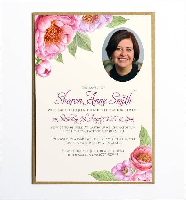 Ceremony Invitation Sample | Free & Premium Templates