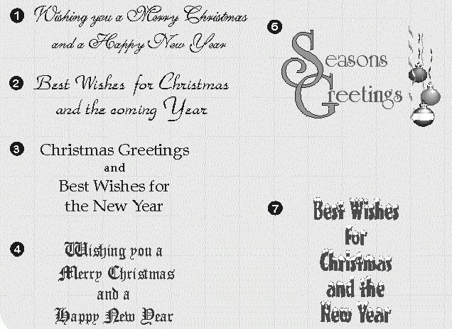 Card Invitation Design Ideas: Christmas Card Greeting Examples ...