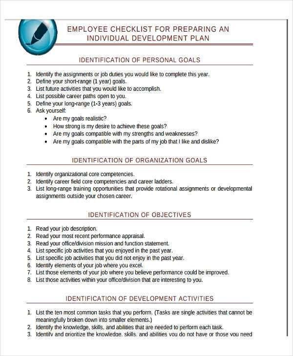 22+ Development Plan Templates   Free & Premium Templates