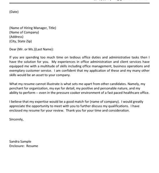 Extraordinary Ideas Healthcare Cover Letter 16 Assistant Example ...