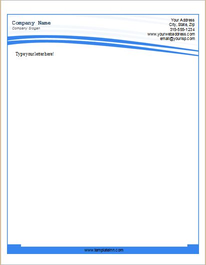 Letterhead Templates for Microsoft Word | Microsoft Word & Excel ...