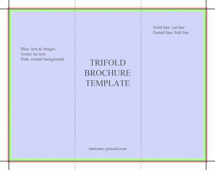 Blank Tri Fold Brochure Template Powerpoint | pikpaknews