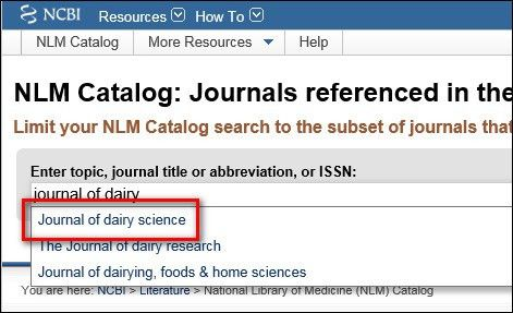 A tip for finding the ISO 4 standard abbreviation | Science Library