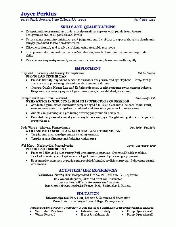 Sample Cio Resume - uxhandy.com