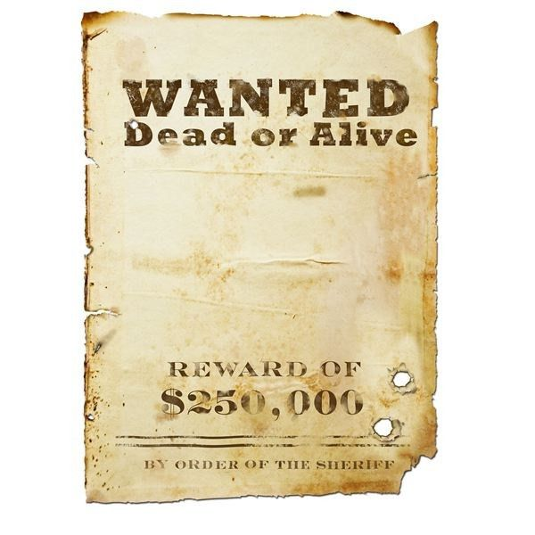 Most Wanted Posters Templates | Calendar Picture Templates