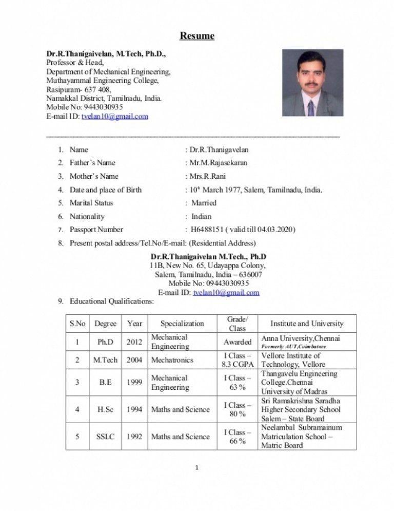 Surveyor Resume Format - Contegri.com