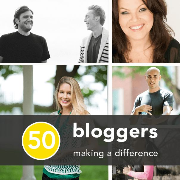 50 Bloggers Making a Difference in Fitness, Health, and Happiness ...