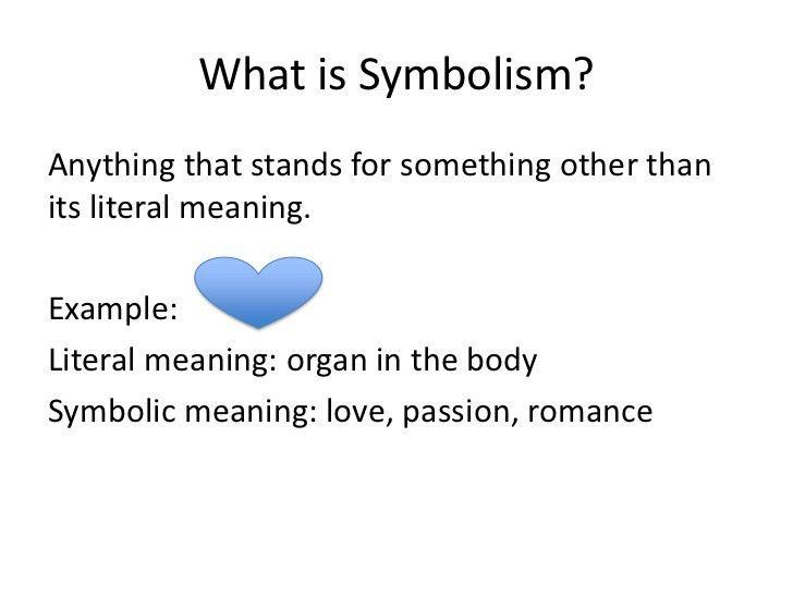 Mini lesson 3-symbolism