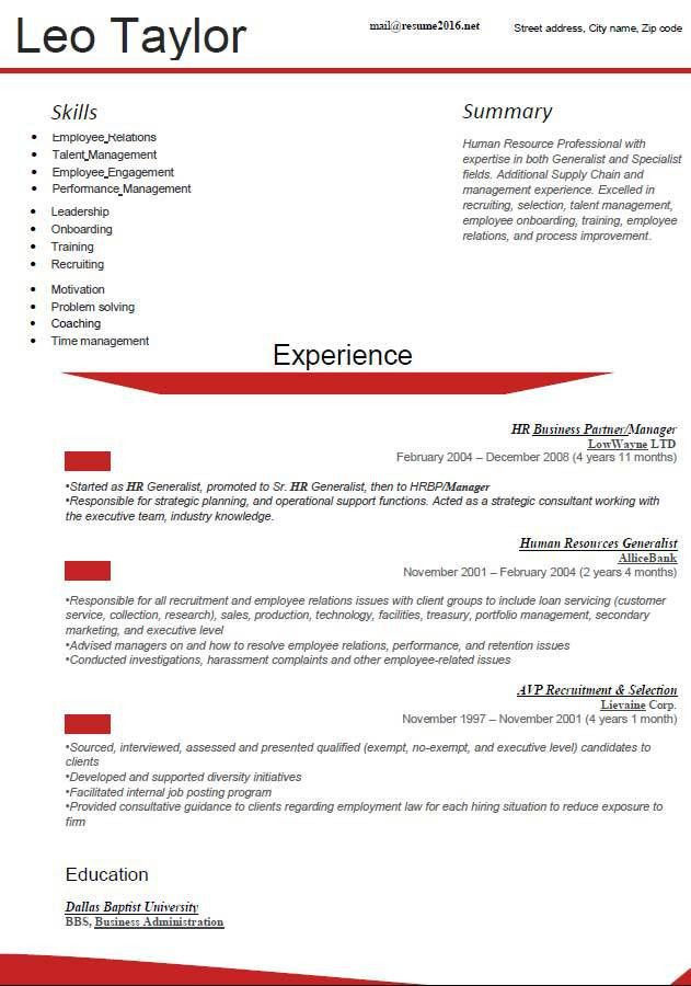 updated. latest resume format 2016. latest resume format template ...