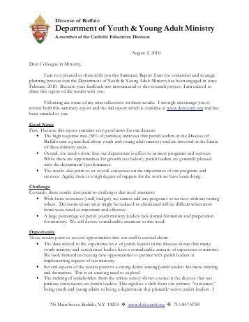 28+ Summary Annual Report Cover Letter | Executive Summary ...