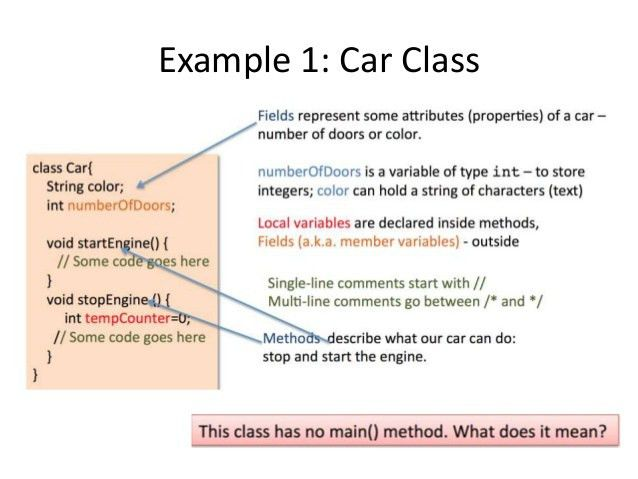 Java 102 intro to object-oriented programming in java