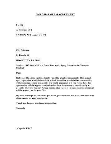 Hold Harmless Agreements. Forms — Honolulu Classical Ballet ...