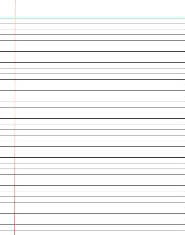 Doc.#697540: Lined Chart Paper – Doc697540 Lined Chart Paper 17 ...