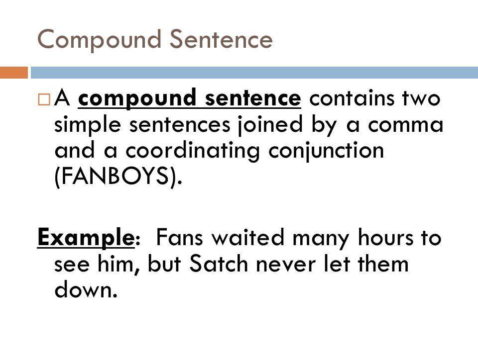 Simple, Compound, and Complex Sentences - ppt video online download