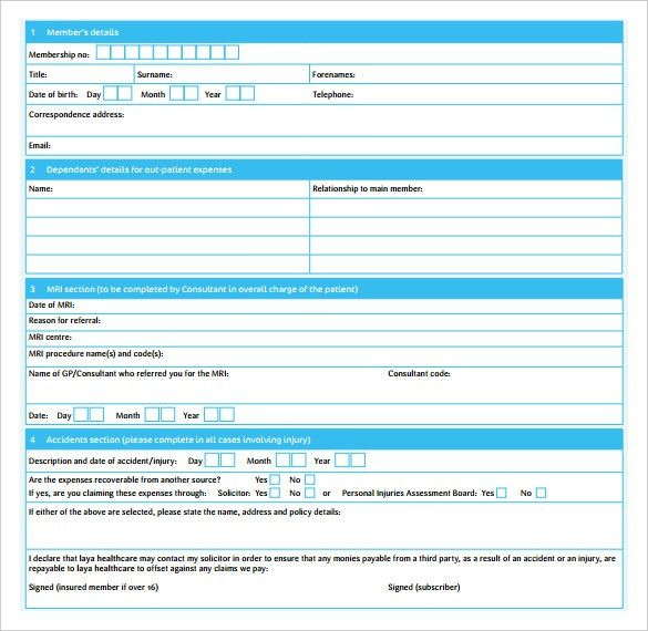 Blank Doctor Receipt Template , The Proper Receipt Format for ...