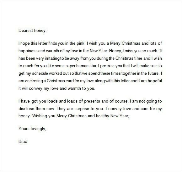 Christmas Letter To Employees Template | xmas2017.net